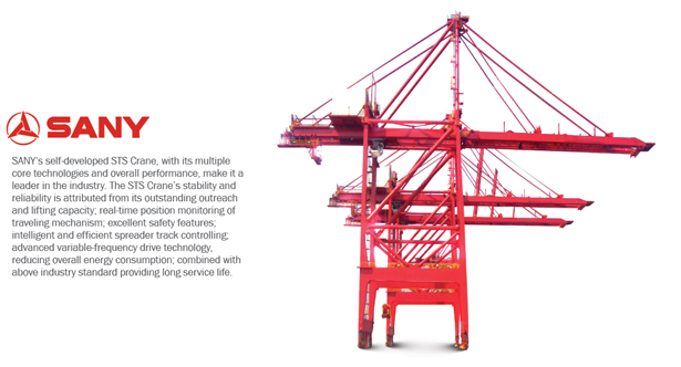 Ship To Shore Gantry Crane Nedir : Sany port machinery boeing material handling corp